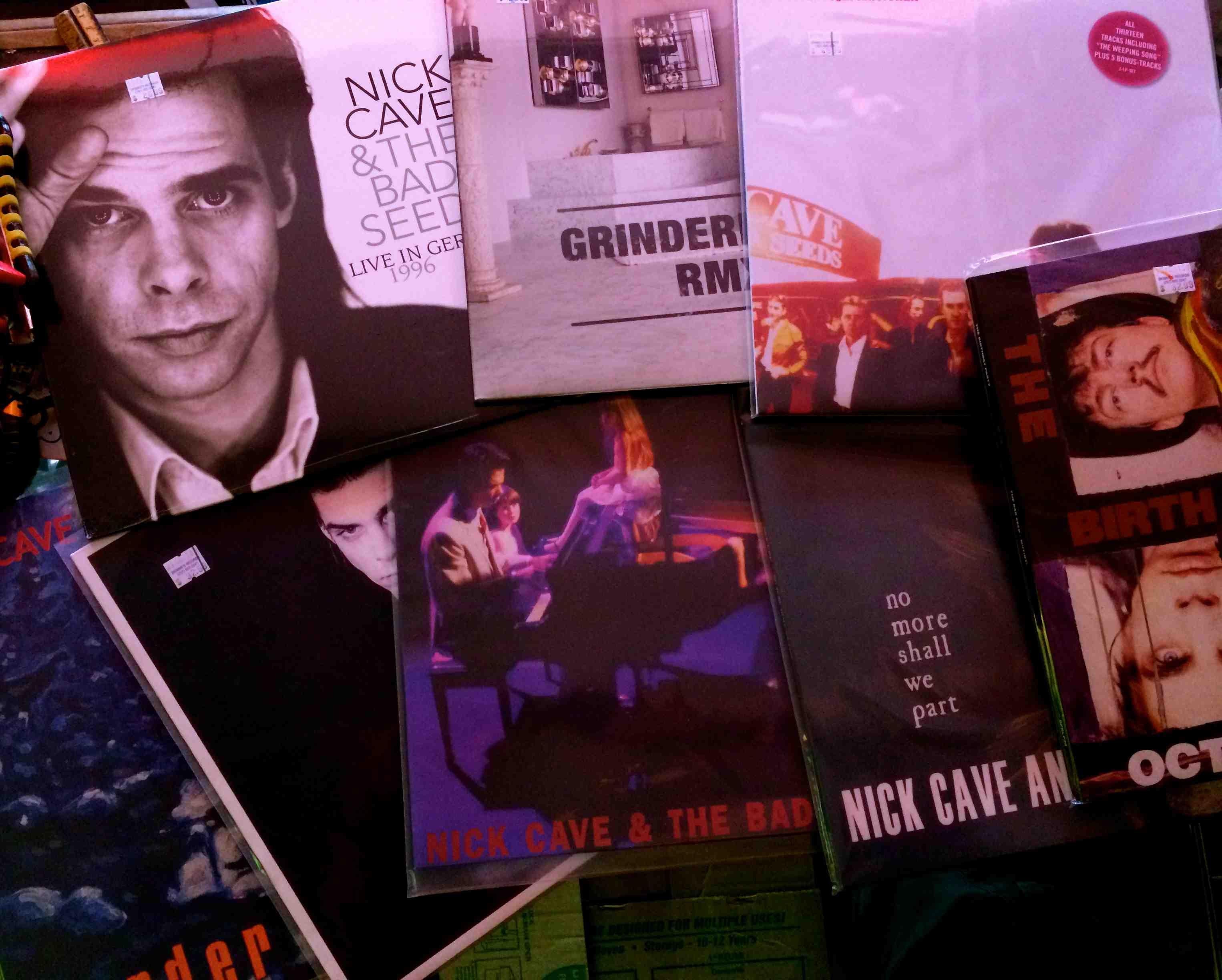 Nick Cave Vinyl in stock….   Skinnies Records